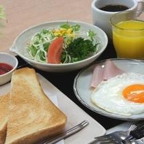 手作りで人気の朝食♪(洋食)