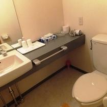 和室に設置されたお手洗いです。意外と広い空間にあるんですよ♪