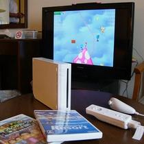 Wii(テレビゲーム)無料貸し出し中です。ユニバーサルルームは不可。
