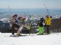 ジュニアスキーキャンプ(春)