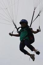パラグライダー子供体験