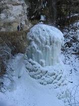八坂大滝大氷柱