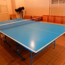 卓球台は2台あります!