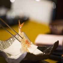 日本料理「さくら」天ぷらカウンター