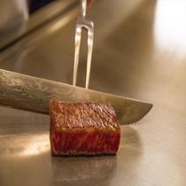 日本料理「さくら」鉄板焼カウンター