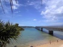 古宇利大橋を渡って、古宇利島へ!