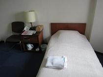 シンプルシングルルームプランは、リーズナブルな料金となっております。
