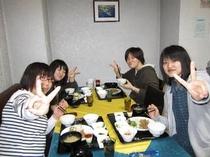 夏・冬休みは関東からの学生さんでいっぱいです。