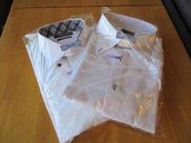 3連泊のお客様にはYシャツ2枚クリーニングサービス♪