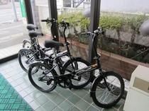 自転車貸し出し♪(2時間200円。1日500円)