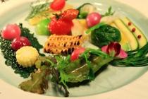 野菜だけのアンティパスト