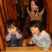 【ログハウス】2階には何があるの?子供たちのプチ冒険が始まります♪
