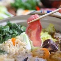 【寄せ鍋】地元島根の食材をつかった、あったかお鍋をどうぞ♪