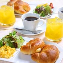 【朝食一例】森のモーニング♪お部屋でゆっくりとお召し上がりください★