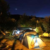 【キャンプ場】星空の下で家族でキャンプもいいもんです。