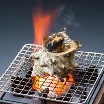 【一品追加料理】 サザエのつぼ焼き