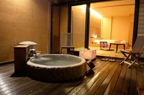 Sakura邸 客室露天風呂