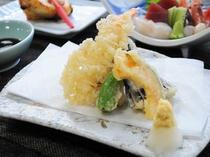 【夕食】天ぷら