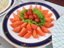 【朝食】フレッシュトマト