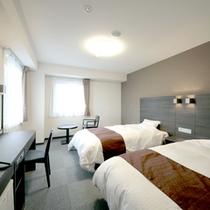 【ツイン一例】広々23平米!二人旅に最適なお部屋です。