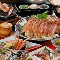 冬 名物 蟹すき鍋コース