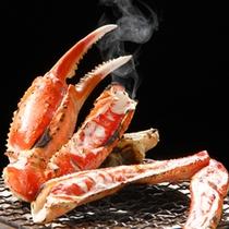 冬の味覚 焼蟹