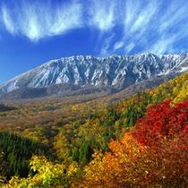 写メラリースポット1 鍵掛峠から見る大山南壁