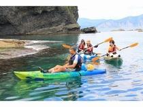 シーカヤック(NAC)年齢や体力に関係なく誰でも気軽に海の冒険を楽しめます!