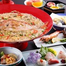 鯛麺コース★