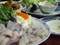 美福鍋(淡路島3年とらふぐ)