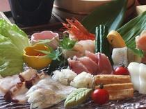 ハモ☆夏食材の手巻き寿司