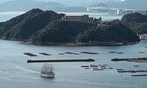 淡路島百景93.福良湾・煙島・大園島の展望