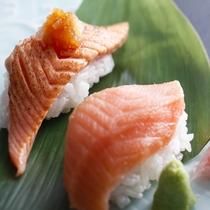 【桜鍋】の〆は握り寿司◎