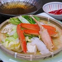 【春】ずわい蟹鍋