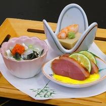 【春】前菜三種