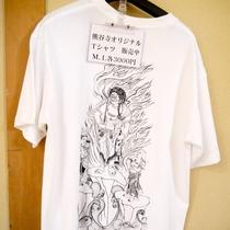 【Tシャツ販売】当館オリジナルとなっております。旅の思い出に♪