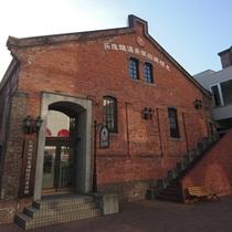 赤レンガの旧工場の建物
