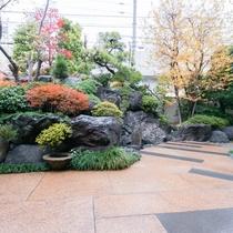 *【屋外施設(庭園)】風情のある庭で和の心を感じてゆったりと。