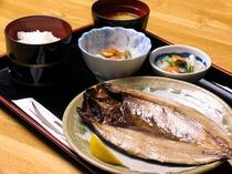 【夕食一例】お魚定食