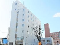 【外観】帯広駅近くのホテルです