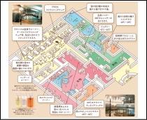 地下1階スパ『プラトー』平面図