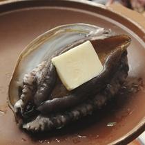 アワビバター焼き