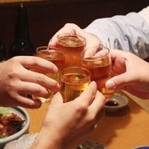 飲み放題☆絶品料理で飲み呑みプラン