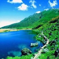 【大雪山・沼の平-半月湖】