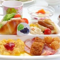 朝食お子様ランチ