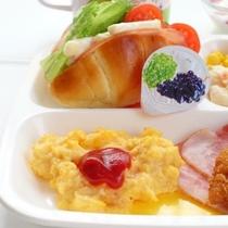 朝食お子様ランチ2【左半分】
