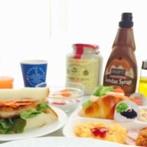 朝食オムライス2【上半分】
