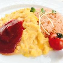 朝食オムライス2【下半分】