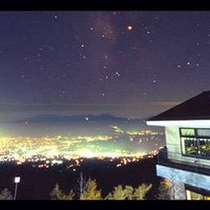 夜景も最高なロケーション 高峰高原