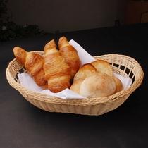 朝食洋食コースのパン